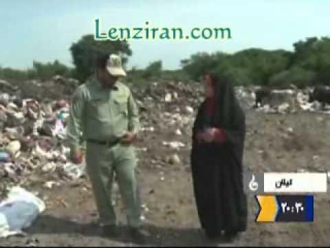 Environment disaster in Caspian seaside