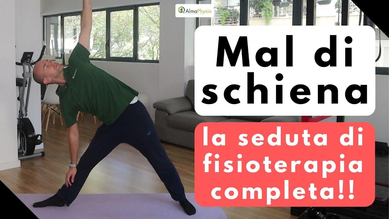 Mal di schiena: la seduta di fisioterapia completa..