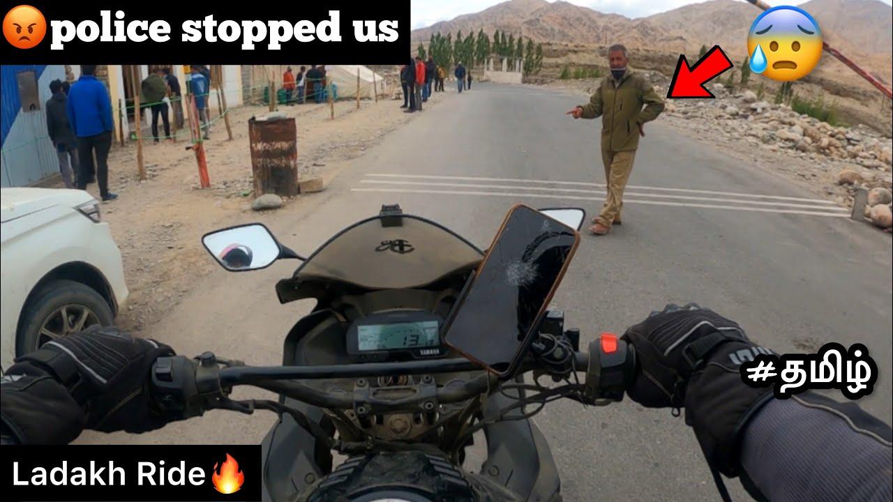 😡Police stopped us | Episode - 20 | Ladakh ride🔥| tamil | reached leh ladakh |