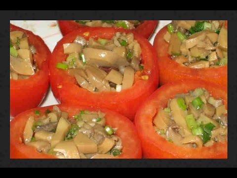 Подборка 10 ти салатов с помидорами Рецепты с фото