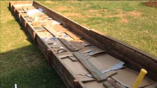 How To Build An Expensive Raised Bed Vegetable Garden Ep 2
