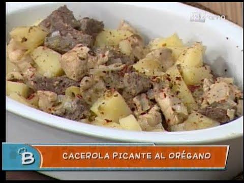 Cacerola picante al orégano
