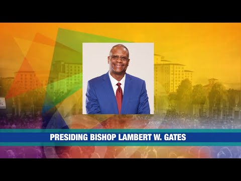 PCAF 62nd Holy Convocation - Bishop Lambert Gates