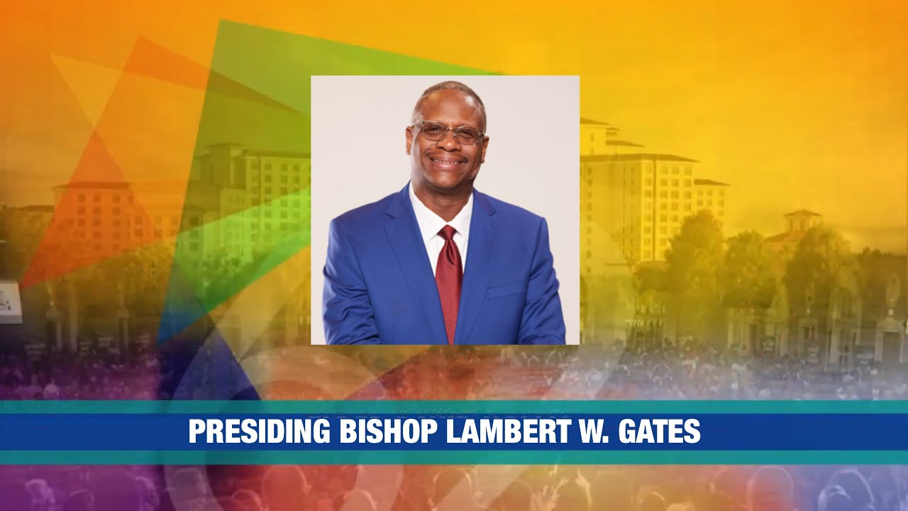 PCAF 62nd Holy Convocation - Bishop Lambert Gates