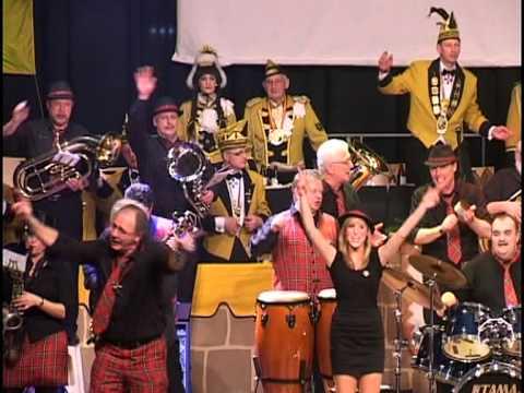 Brass on Spass in der Stadthalle Stolberg am 22.01.2011
