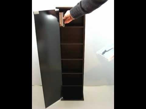 Mueble para cds youtube - Muebles para cds madera ...