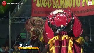 Lagu Jaranan Terbaru RA JODO Cover Voc IKA Lovers - ROGO SAMBOYO PUTRO Live GAMBIREJO 2018