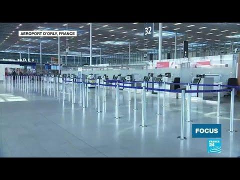 À l'aéroport d'Orly, l'activité se poursuit malgré la suspension des vols commerciaux