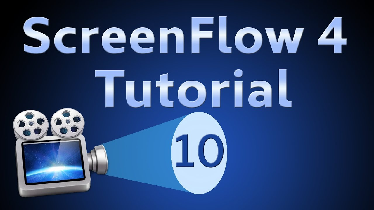 ScreenFlow 4 Tutorial 10: Detaching Audio and Freeze Frames - YouTube