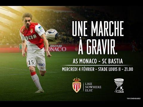 AS Monaco - SC Bastia, conférences de presse en Live