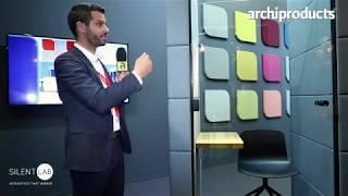 Orgatec 2018 | SILENTLAB - Jaroslav Vendl presents MICROOFFICE UNIQ