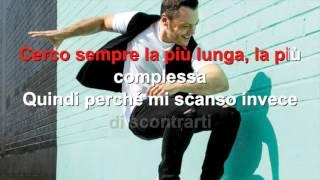 Tiziano Ferro - Potremmo ritornare - Karaoke con testo