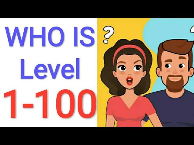 Jawaban Game Who Is Level 1 100 Youtube