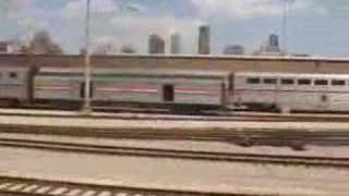 Amtrak Texas Eagle Leaving Chicago