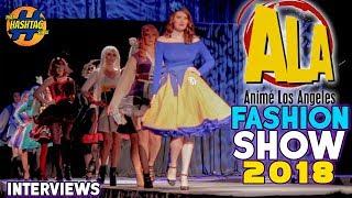 Anime LA | Fashion Show 2018 | Interviews