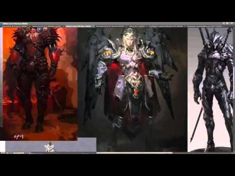 Game Design Concept Art video series Part 1 - Planning