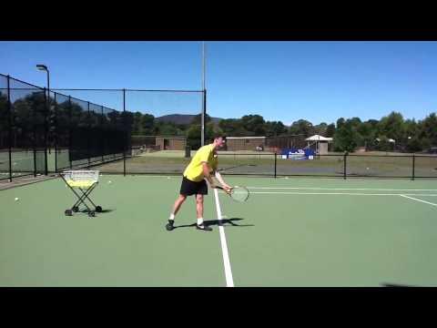 Tom Gibson College Tennis Video