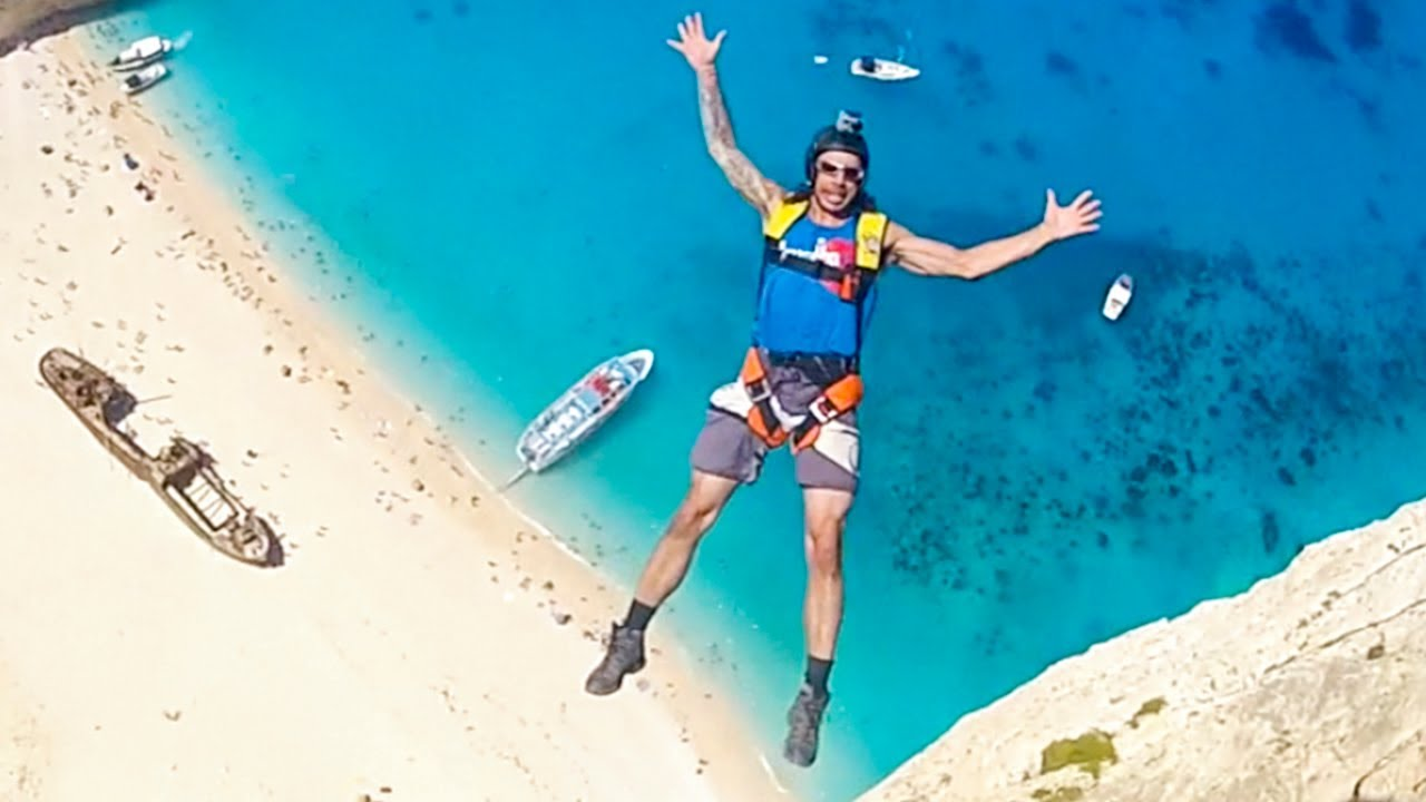 Most Insane BASE Jumping Videos On The Internet - 7 most extreme base jumping destinations in the world
