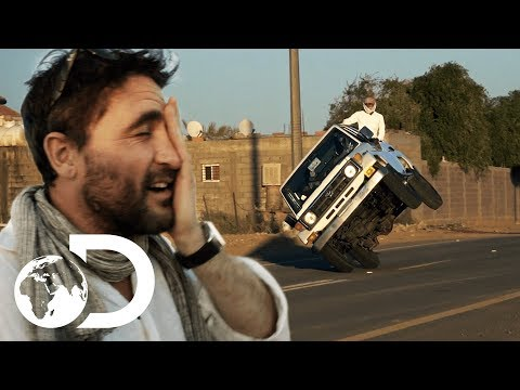 Saudi Arabians Who Drive On Two Wheels For Fun Become Viral Sensation | Arabia With Levison Wood