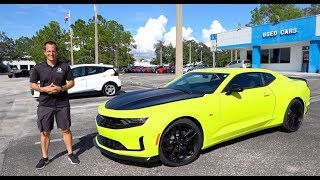 Is the 2020 Chevy Camaro RS 1LE as GOOD as a Camaro SS?