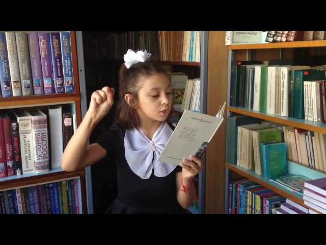 Изображение предпросмотра прочтения – ЛейлаПшеничникова читает произведение «Воробей» И.С.Тургенева