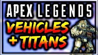 Apex Legends News - Vehicles & Titan ONLY Mode Leaked! Hover-bike Update (Apex Legends Battle Pass)