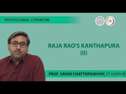 character analysis for raja raos kanthapura
