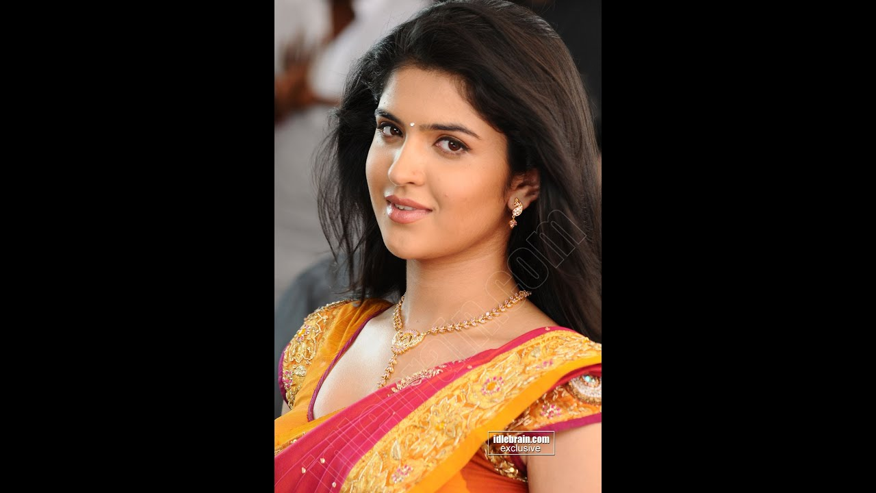deeksha seth hot show in saree - youtube