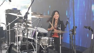Gamma1 Jomblo Happy Live Drum Cover By Nur Amira Syahira