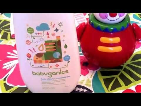 Babyganics Non Toxic Floor Cleaner Concentrate Fragrance Free