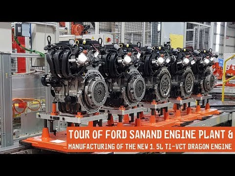 A Look Inside The Ford Sanand Engine Plant & Manufacturing Of The New 1.5L Ti-VCT Petrol Engine