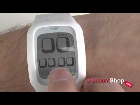 Swatch Touch SURW100 - Review By DiscountShop.com