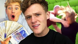 Wrestling Your Own Mom for $10,000 - Challenge (Morgz)