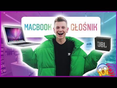 INSTAGRAM DECYDUJE O MOICH ZAKUPACH!😱 *kupiłem MacBooka*