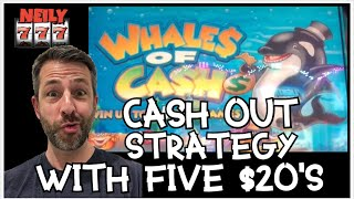 I DID MY CASH OUT STRATEGY PLAYING 5 DIFFERENT SLOT MACHINES ✧✧ HOW'D I DO?