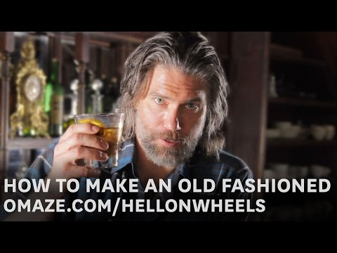 How to Make an Old Fashioned with Anson Mount