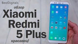 Обзор Xiaomi Redmi 5 Plus – просто красавец!