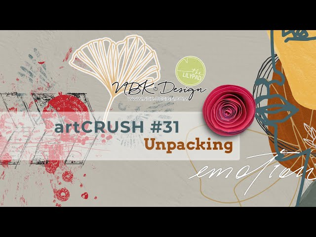 artCrush 31 - Unpacking and creating a Pocket Page Layout