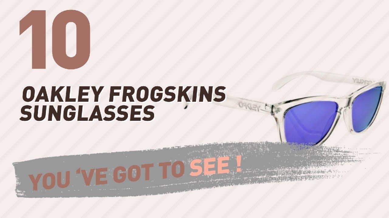 3f9efe718371aa Oakley Frogskins Sunglasses For Women // New & Popular 2017 - YouTube