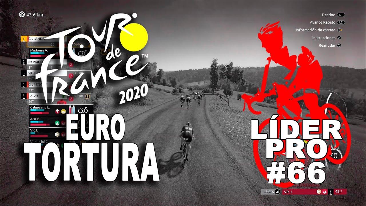 TOUR DE FRANCE 2020 Líder Pro #66 VR_JUEGOS