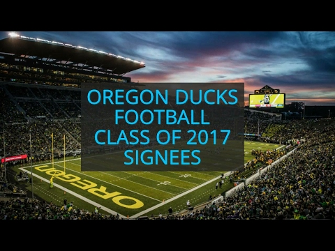 Meet the 24 signees in the Oregon Ducks football 2017 class