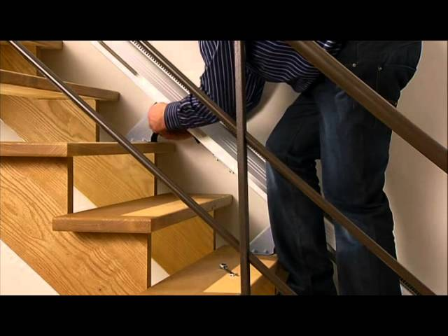 Midland Mobility - Installation of HomeGlide Stairlift
