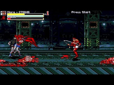 OpenBoR games: Russian OpenBoR Mod playthrough part 2: Streets of Rage Zombies (Bad Ending)