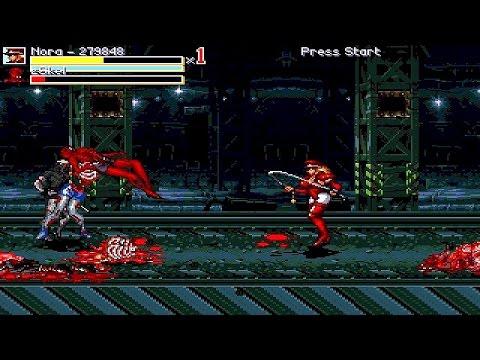 OpenBoR games: Crisis Evil 2 playthrough | FunnyDog TV