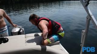 PDB Bonus - Travis Mills does a backflip