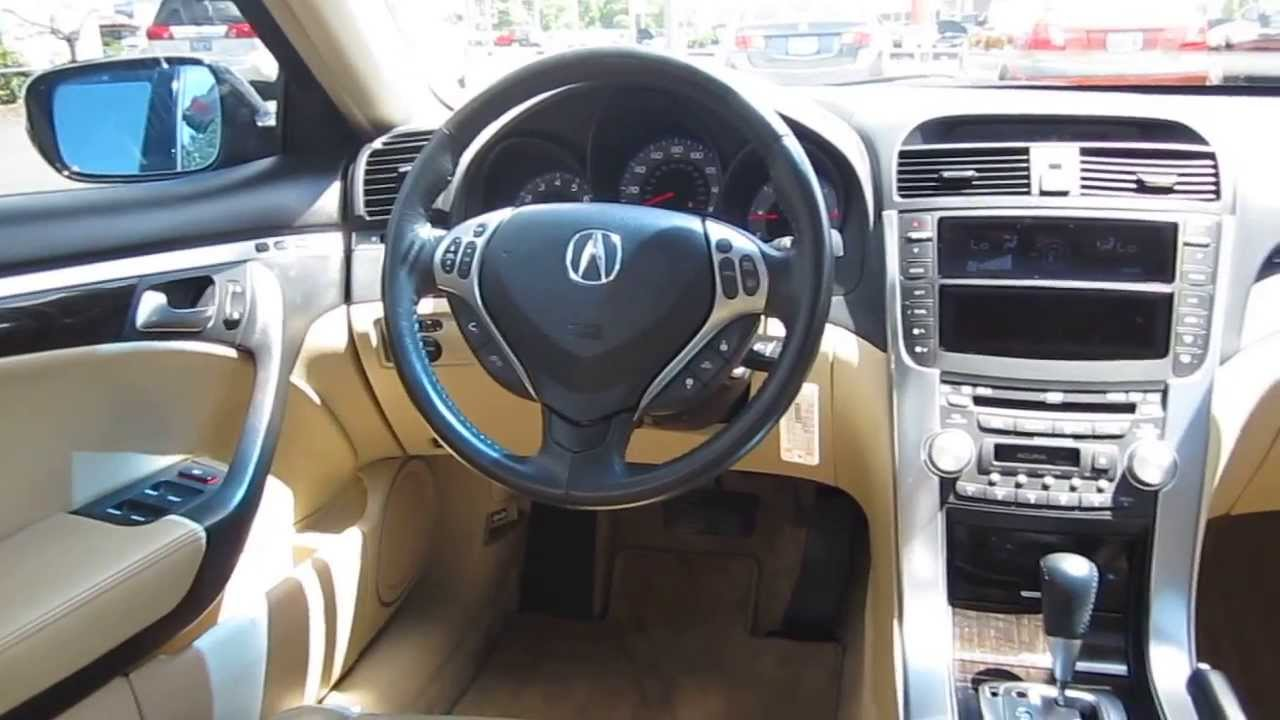 Captivating 2007 Acura TL, Black   STOCK# 12582P   Interior Idea