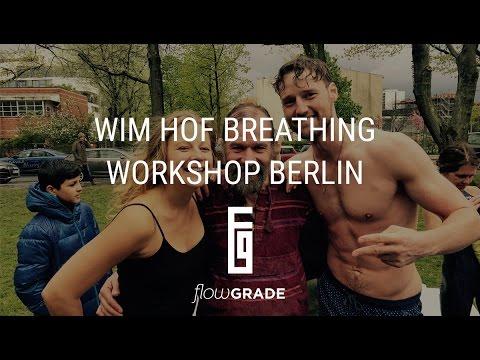 Wim Hof Breathing Workshop - April 2017 in Berlin