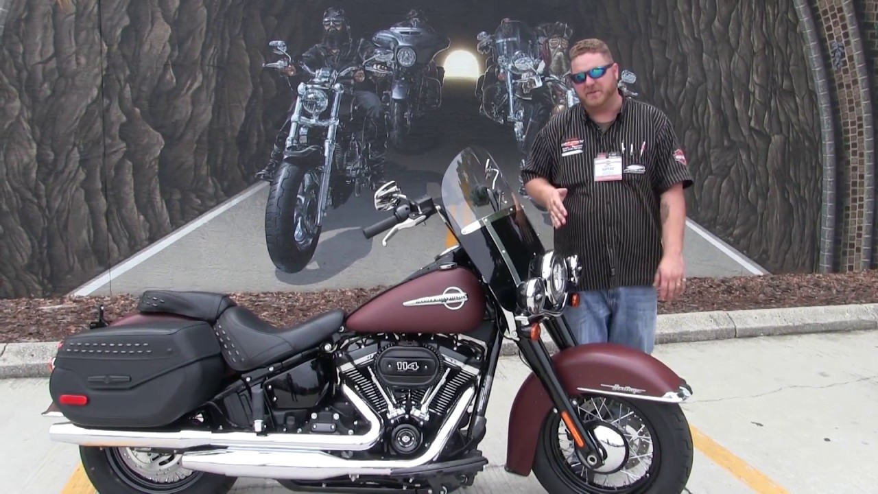 New 2018 Harley Davidson Heritage Classic For Sale Fl 2019