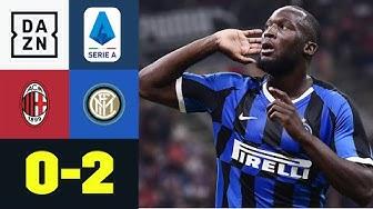 Inter bleibt nach Derby-Sieg Erster: AC Mailand - Inter Mailand 0:2   Serie A   DAZN Highlights