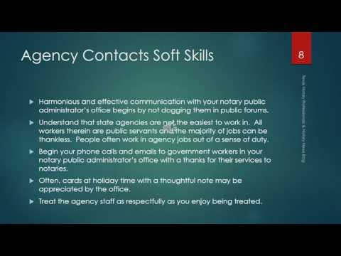Soft Skills for Notaries Public